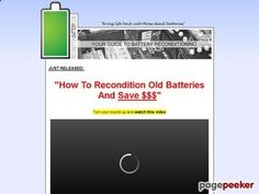 nice Recondition Battery .com