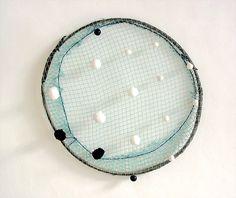 Patrick Satour, Filet ('Net'), 2004, 48 cm diameter.