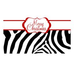 Animal print Christmas Cards  set of 10 by BBDesigns on Etsy, $14.50