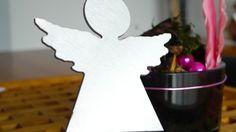 Taufgeschenk ✿ Schutzengel ✿ ✿ Taufgeschenk ✿ Deko von PAULSBECK Buchstaben, Dekoration & Geschenke auf DaWanda.com