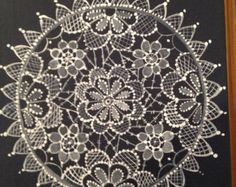 hand painted lace designs - Google Search
