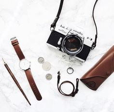 Brown essentials ft. Brown & Silver Charlize Watches by @jeffreychung