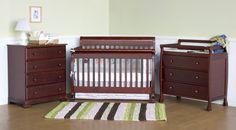 Kalani 4-in-1 Convertible Crib Set | Wayfair