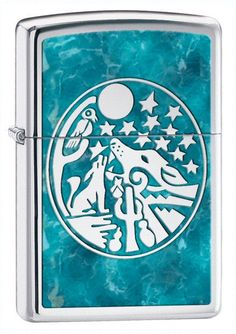 Personalised Blue Full Moon Zippo Lighter Engraved Gift in Collectables, Tobacciana & Smoking Supplies, Lighters | eBay!
