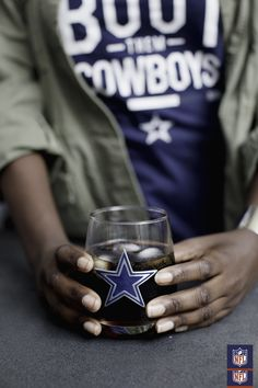 Serve game day drinks in a Dallas Cowboys stemless glass for extra fan  points. Dallas e47242271