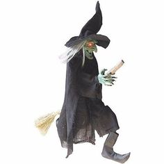 lunging haggard witch animated halloween decoration worlds of fantasy pinterest animated halloween decorations and witches