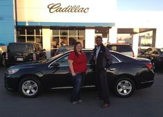 Donna Porter of Pascagoula is the newest owner of a 2015 Chevrolet Malibu from our dealership! She is pictured here with LaBaron Barnes, her Sales Consultant. We would like to thank her for doing business with us! There are some great incentives on the Malibus right now! Come on down and see for yourself.