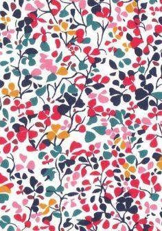 Liberty Nina Taylor rouge idée tissus
