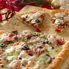 Hollywood Pizza Recipe from Taste of Home -- shared by Michael Williams of Moreno Valley, California