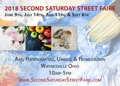 Waynesville Area Chamber of Commerce - events Waynesville Ohio, July 14th, Chamber Of Commerce, Food Truck, Boutiques, Dates, Cravings, Two By Two, September