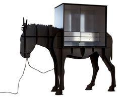 bureau secrétaire en bois placage chêne et blanc mat l110cm focus ... - Meuble Ordinateur Design