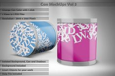 Can Mock Up Vol 3 by Alexander Georgiev on @creativemarket