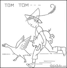 McKim embroidery designs! Nursery-Rhyme-Embroidery-Tom-Tom