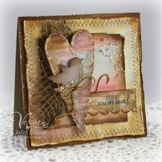 Stamps:  Small Phrases (Verve Stamps)  Paper: Cream, Kraft