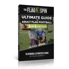 5 on 5 Flag Football Playbook & Strategy Guide E-Book