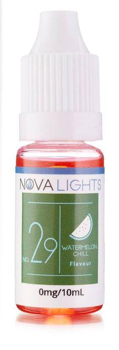 No.29 Nova Lights Watermelon Chill #VapeFam #UKVape #NovaVape