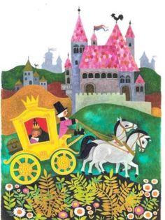 Image fairy   sprookje   #illustratie #illustration #koets