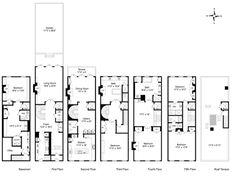 images about Landscape on Pinterest   House plans  Floor    Historical mansion floor plans new orleans garden district   East nd Street