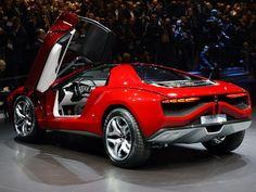 Future Car, Italdesign Parcour Concept, 2013 Geneva Motor Show