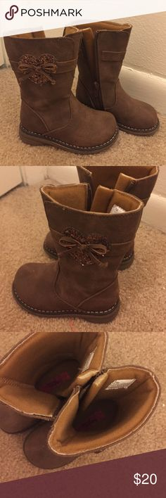 Toddler Girl size 7 boots My daughter only wore once! They are in NEW condition. Such cute boots rachel shoes Shoes Boots