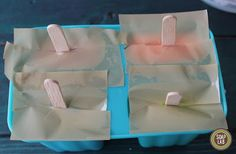 How To Hold Popsicle Mould for soap making