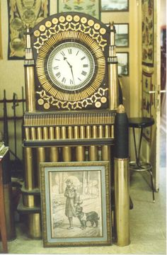 The Mother of All Trench Art Clocks' made from artillery shells and rifle bullets. Proudly in situ at the Sanctuary Wood Museum near Ypres.