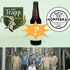 We are excited to announce von Trapp Brewing and @hoppebraeu from Waakirchen, Germany are collaborating a never before brewed cone hops beer within vTb!  Stay tuned for more! #brewnews #vtb #hoppebrau #germany #vermont #conehops #hoppyfriday