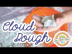Toddler-Safe {Coloured} Cloud Dough – Kids Activities Blog