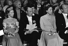 The Royal Watcher - Crown Princess Sonja and Crown Prince Harald of Norway, Princess Benedikte of Denmark and her fiance Prince Richard zu Sayn-Wittgenstein-Berleberg