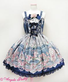 Angelic Pretty Belle Epoque Roseジャンパースカート