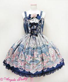 Angelic Pretty Belle Epoque Roseジャンパースカート