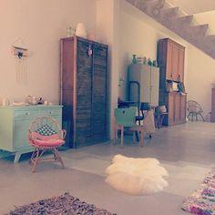 Un mélange de styles pour le salon / Living room with different styles