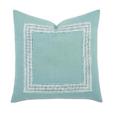 Breeze Aqua Decorative Pillow - Frontgate
