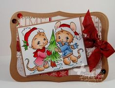 E. Washington Christmas by Twinshappy - Cards and Paper Crafts at Splitcoaststampers