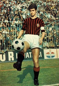 Gianni Rivera of AC Milan, ca. 1967.