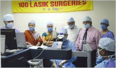 Performing 100 LASIK Surgeries in a Day