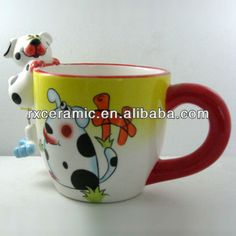 1,This is hand-painted ceramic mug2, Size and the price is reasonable3, Has very strong environmental protection function