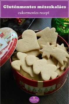Ciabatta, Gingerbread Cookies, Free Food, Paleo, Food And Drink, Gluten Free, Pudding, Xmas, Recipes