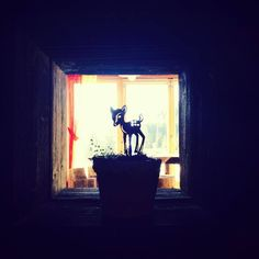 small window in izba