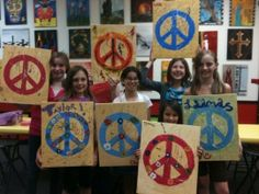 Paint on Canvas Session 1 Frisco, Texas  #Kids #Events #Art