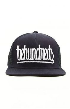 bfb2714442c Chain Trucker hat by The Hundreds at MOOSE Limited Navy Hats