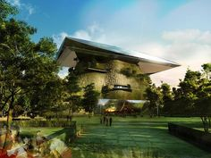Pix Grove: Belgrade Science Center From OFF Architecture