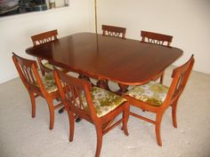 1940s Dining Room Furniture | Collectibles General (Antiques) / 1940u0027s  Dining Room Set