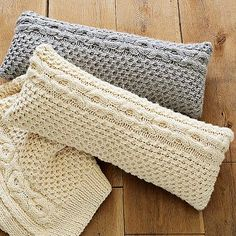 Honeycomb Pillow Covers by Lutz&Patmos.