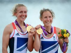 Katherine Copeland and Sophie Hosking win gold for the women's lightweight double sculls