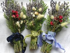 Love the unique style and more natural flowers. Bouquets, Boutonnieres, Corsages, Flower Toss on Etsy, $299.00
