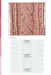 SOLO PUNTOS: Puntos cruzados crochet