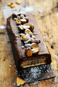 Gâteau chocolat petit beurre