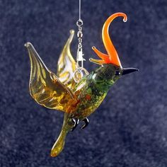 Stained glass #suncatcher figurine. Check out here: http://crwd.fr/2lEOnle  #animalcollection #birdlove #bird #spiritual #stainedglass #chicken #lampwork #muranoglass#etsy #etsyfinds #handmade #sculpture #glassfigurines #miniature #glass #blownglass  #glassart #homedecor #souvenir #gift #giftidea #giftideas #shopping #perfectgift #craft #presents #etsygifts #russianminiatures