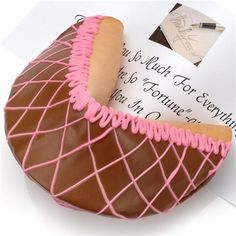 Fortune Cookie | Giant Neopolitan Fortune Cookie
